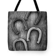 Horseshoes Set Tote Bag