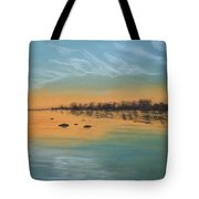 Horsetail Clouds Tote Bag
