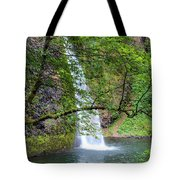 Horsetail Falls, Oregon Tote Bag
