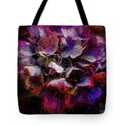 Colorful Hortensia Closeup Tote Bag