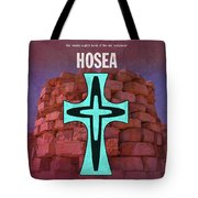 Hosea Books Of The Bible Series Old Testament Minimal Poster Art Number 28 Tote Bag
