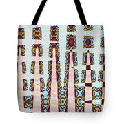 Hosiptal Construction Abstract #2 Tote Bag