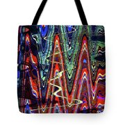 Hospital Construction Abstract #4 Tote Bag
