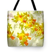 A Host Of Golden Daffodils Tote Bag
