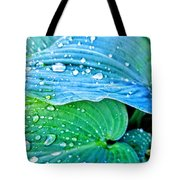 Hosta After The Rain Tote Bag