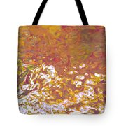 Forces Of Love Breaking Through Tote Bag