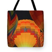 Hot Aie Balloons Tote Bag