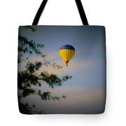 Hot Air Ballon In Oklahoma Tote Bag