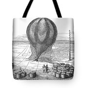 Hot Air Balloon Inflation Tote Bag by Granger