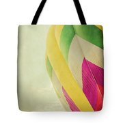 Hot Air Balloon With Pastel Sky Tote Bag
