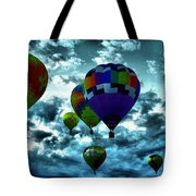 Hot Air Balloons In Albuquerque Tote Bag