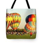 Hot Air Balloons Tote Bag