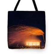 Hot At Night Tote Bag