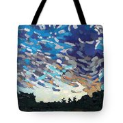 Hot August Sunrise Tote Bag