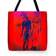 We Have The Hot Burning Feelings All Around Us All The Time  Tote Bag