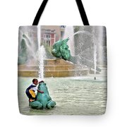 Hot Day In Philly Tote Bag