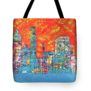 Hot Day In The City Tote Bag
