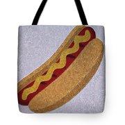 Hot Dog Emoji Tote Bag