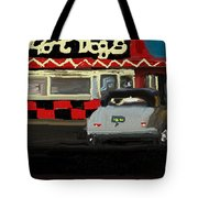 Hot Dogs And A Juke Box. Tote Bag