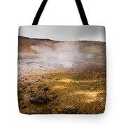 Hot Earth Tote Bag
