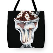Hot Fudge Sundae Tote Bag