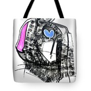 Hot Handed, Cold Hearted Tote Bag