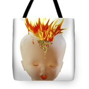 Hot Head Tote Bag