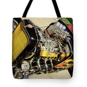 Hot Hotrod Tote Bag