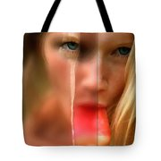 Hot Ice Girl Tote Bag