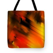 Hot Lava Tote Bag
