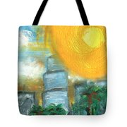 Hot Miami Sky Tote Bag