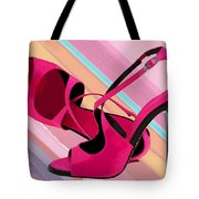 Hot Momma's Hot Pink Pumps Tote Bag