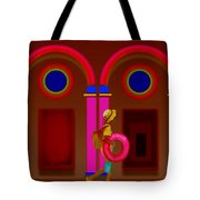 Hot Night In Rome Tote Bag