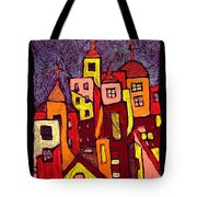 Hot Night In The City Tote Bag