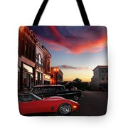Hot Night Tote Bag