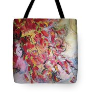 Hot Pepper Drying Tote Bag