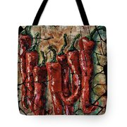 Hot Pepper Fresco Tote Bag
