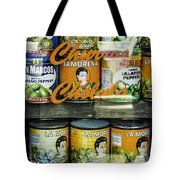 Hot Peppers Tote Bag