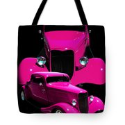 Hot Pink 33  Tote Bag