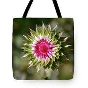 Hot Pink And Spikey Tote Bag