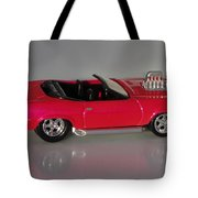 Hot Pink Barracuda Tote Bag