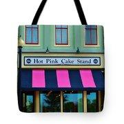 Hot Pink Cake Stand Tote Bag