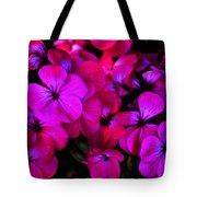 Hot Pink Florals Tote Bag