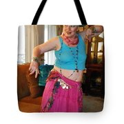 Hot Pink In The Parlor Tote Bag