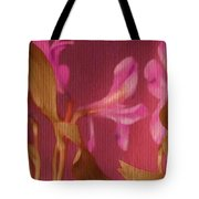 Hot Pink Lilies Tote Bag
