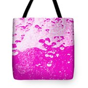 Hot Pink Liquid Tote Bag