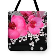 Hot Pink Orchids 2 Tote Bag