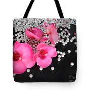Hot Pink Orchids Tote Bag