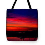 Hot Pink Sunset Tote Bag