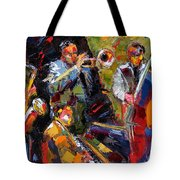Hot Quartet Tote Bag